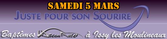 Samedi 5 mars bapt mes vda au profit de jp2s issy les for Garage rolin issy les moulineaux