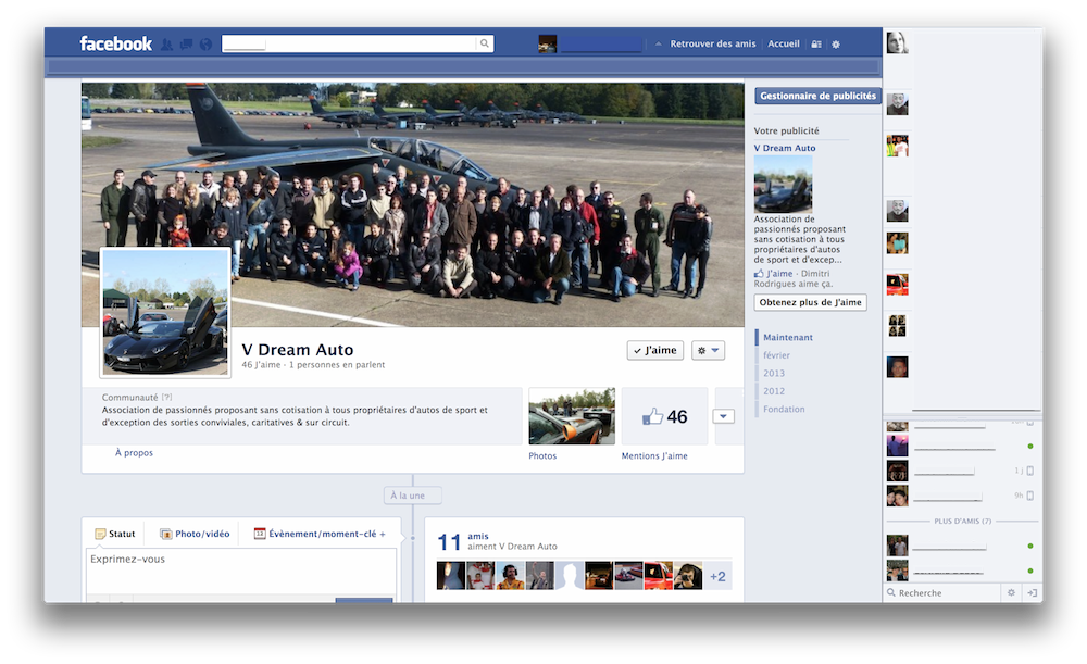 Page Officielle V Dream Auto